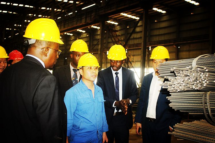 Niger Republic Minister of Ind. visits Inner Galaxy Group
